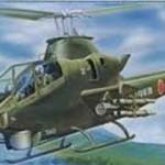 1/48 日本の戦闘機シリーズSPOT No.6 陸上自衛隊 AH-1S/AH-1E 対戦車ヘリコプター