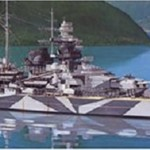 1/350 艦船シリーズ No.15 ドイツ海軍 戦艦 テルピッツ