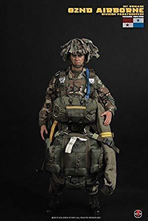 1/6 アメリカ陸軍 第82空挺師団第1旅団 落下傘兵 パナマ侵攻作戦 1989-90