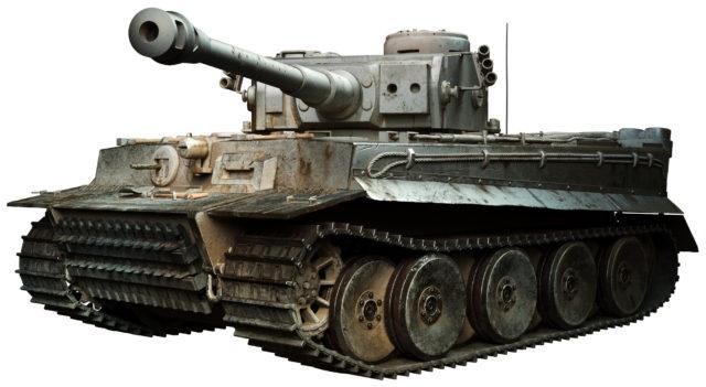 1/12 ドイツ軍 重戦車 キングタイガー RCラジコン
