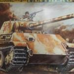 1/24 ドイツ5号戦車 パンサーG型