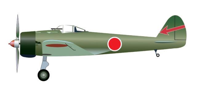 R/C ミニエアプレーン タイプZEROモデル21