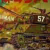 1/40 アメリカ陸軍.M-4シャーマン戦車U.S.ARMY