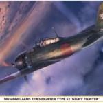 1/32 日本海軍 三菱 A6M5 零式艦上戦闘機 52型 夜間戦闘機