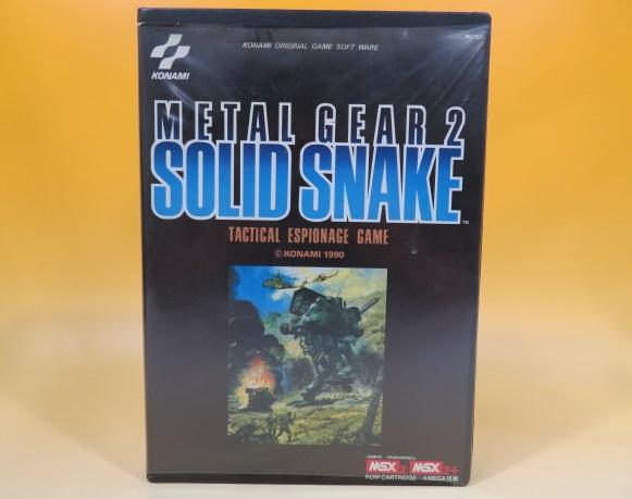 MSX2 メタルギア2 SOLID SNAKE ソリッドスネーク コナミ