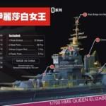 1/700 英海軍戦艦 クイーン・エリザベス ディティールセット
