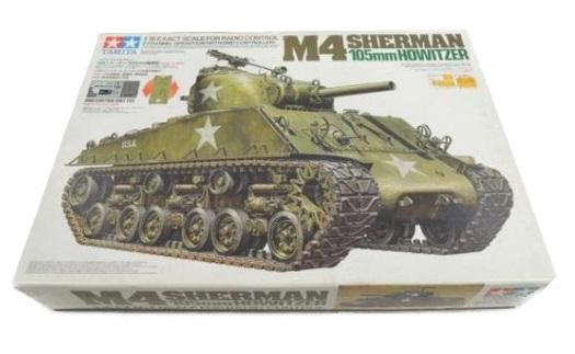 TAMIYA M4シャーマン 戦車 ラジコン