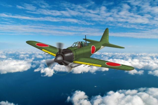 戦闘機プラモデルに登場する三菱 零式艦上戦闘機 五二型とは