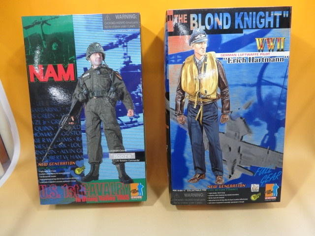 ドラゴン フィギア (NAM U.S 1st CAVALRY  Moore ・ WWⅡ THE BLOND KNIGHT Erich Hartmann )