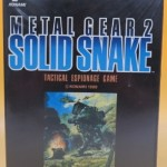 MSX2 メタルギア2 SOLID SNAKE ソリッドスネーク