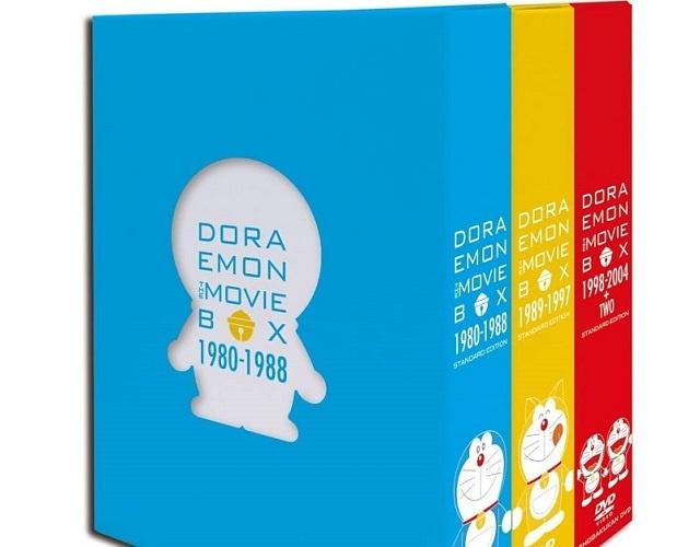DORAEMON THE MOVIE BOX 1980-2004+TWO スタンダード版DVD