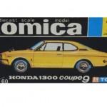 トミカ ホンダ 1300 クーペ9 黄 黒箱