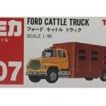 トミカ№107 フォード キャトル トラック
