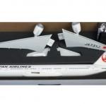 Pacmin パックミン 1/100 B777-300ER JAL 新鶴丸塗装