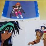 各種懐かしのアニメのセル画