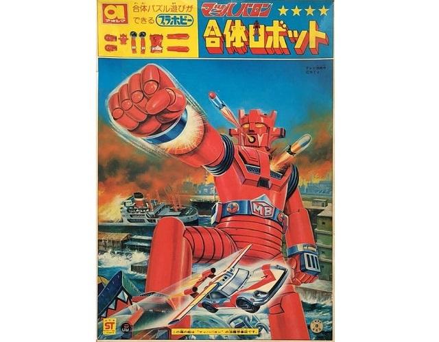 アオシマ マッハバロン 合体ロボット